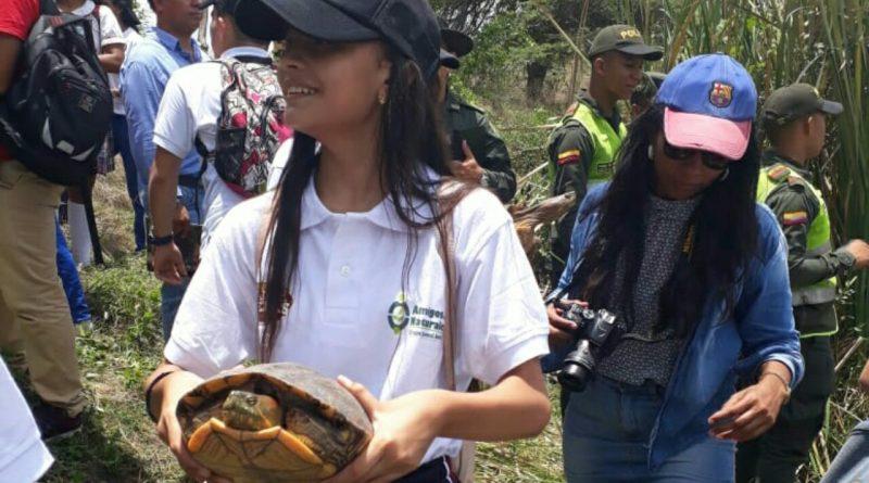 Policía nacional  logra  la liberación de  60 especies  de la biodiversidad.