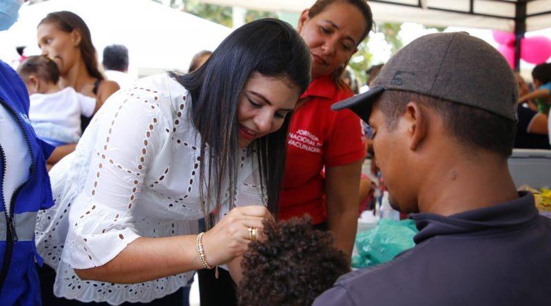 Soledeños les cumplieron a los niños llevándolos a vacunar