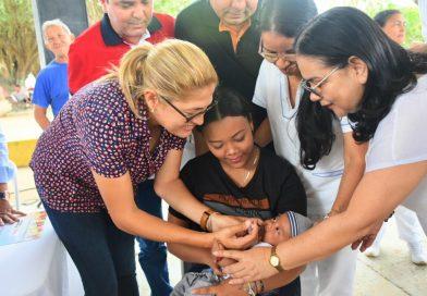 Atlántico superó la cifra de vacunación, prevista para el mes de enero
